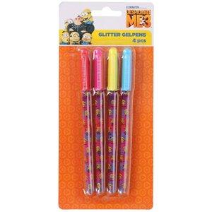 Glitterpennor - Minions