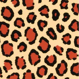 Color-Dekor färgfolie 180 °C 100 x 200 mm - leopard 2 st
