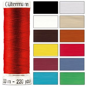 Sytråd 200 m - Finns i 95 olika färger