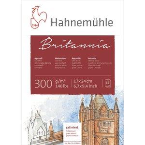 Akvarellblock Britannia 300g Hot Pressed