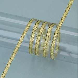 Dekorband guld 3 mm - 50 meter - guld