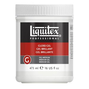 Liquitex Akrylmedium 473ml - Gloss Gel