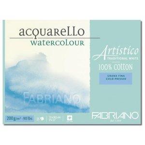 Fabriano akvarellblock 200 g fin gräng