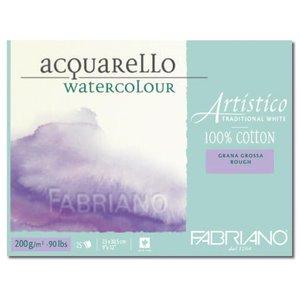 Fabriano akvarellblock 200 g grov gräng