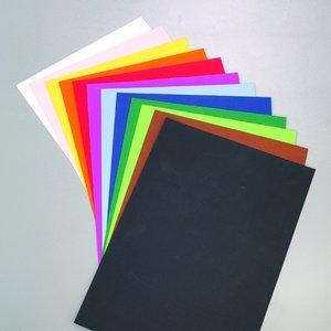 Färgat papper 50 x 70 cm - 10 ark - 130 g/m²