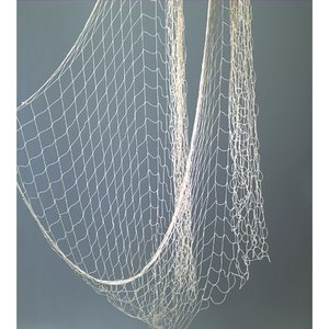 Fiskenät bomull 400 x 100 cm - nätstorlek 5 cm