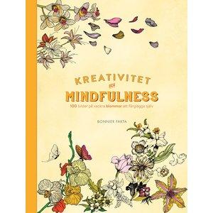 Kreativitet och mindfulness - 100 bilder på vackra blommor att färglägga själv
