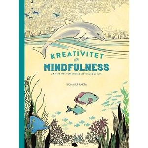 Kreativitet och mindfulness - 24 kort från vattenriket att färglägga och skicka