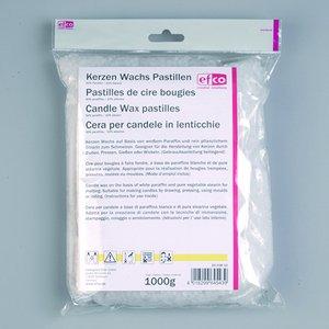 Ljusmassa - Paraffin (90%) / Stearin - 1.000 g