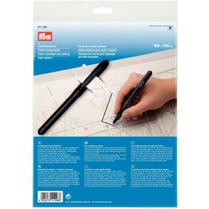 Mönsterplast med penna 1x1