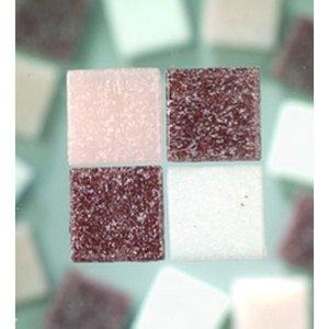MosaixPro - glasmosaik 10 x 10 mm - lila mix 1.000 g ~ 1