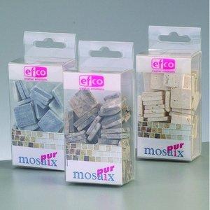MosaixPur - naturlig sten 10 x 10 x 4 mm - 200 g ~ 205 st.