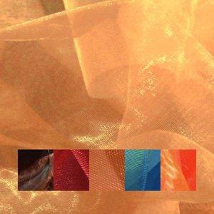 Organzatyg tvåfärgat - 150 cm
