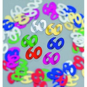 Paljetter 10 mm - blandade färger 20 g 60