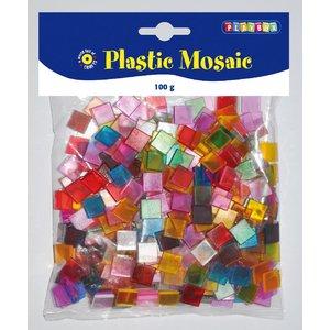 Plastmosaik 10x10 mm