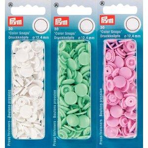 Plasttryckknappar - Color Snaps - ø 12