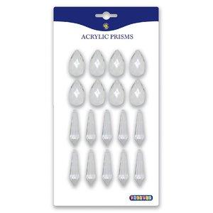 Prismor i akrylplast - droppar & pendlar
