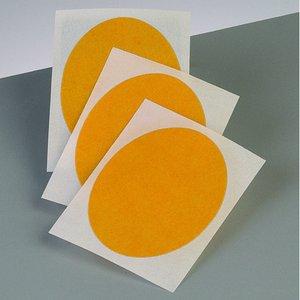 Självhäftande folie 80 x 60 mm - transparent 3 st. ovala