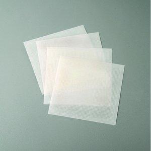 Små limprickar 1 mm / 10 x 10 cm - klar 4 ark