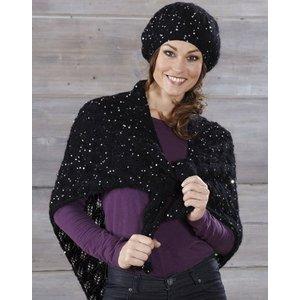Stickmönster - Basker och mönsterstickad sjal