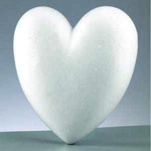 Styrolitform 150 mm - hjärta ej delbar / platt