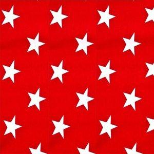 Trikåstjärna - Röd - 160 cm
