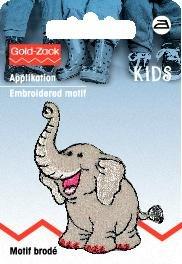 Tygmärke Elefant