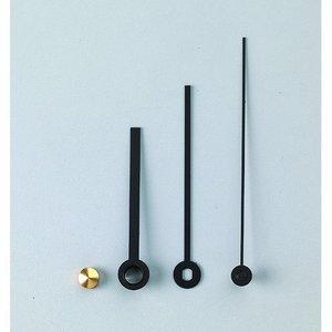 Visare 43 / 55 / 70 mm - svart 1 set / 4 metalldelar