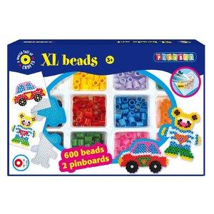 XL-pärlset bil och björn
