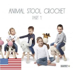 Animal Stool Crochet Part 1 - Engelska - Bok av Anja Toonen