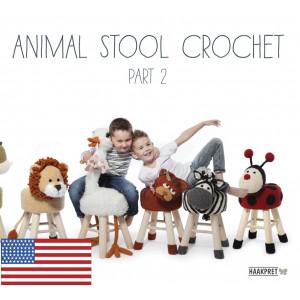 Animal Stool Crochet Part 2 - Engelska - Bok av Anja Toonen