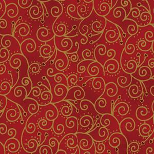 Christmas Wonders Bomullstyg 112cm Färg 413 - 50cm