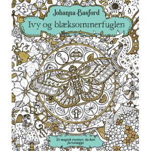 DANSK UTGÅVA Ivy and the inky butterfly - Målarbok av Johanna Basford