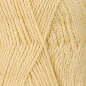Drops Alpaca Garn Unicolor 2110 Ljusgul melerad