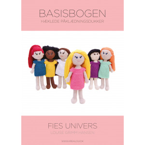 Hæklede påklædningsdukker - Fies univers - Basisbogen - Bog af Louise