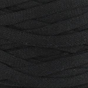 Hoooked Ribbon XL Trikågarn Unicolor 26 Svart