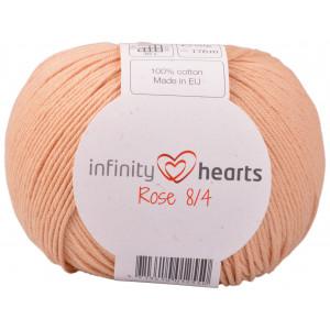Infinity Hearts Rose 8/4 Garn Unicolor 242 Ljus Terracotta