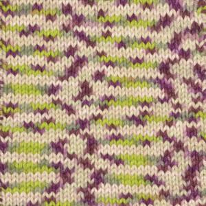 Järbo Soft Cotton Garn 8878 Lila/Rosa/Beige Print