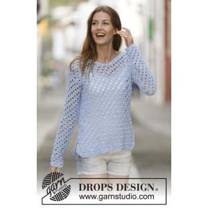 Just Me by DROPS Design - Tröja Virk-mönster strl. S - XXXL
