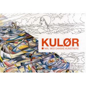 KULØR - Mal med danske kunstnere - Målarbok av Signe Schmidt-Jørgensen