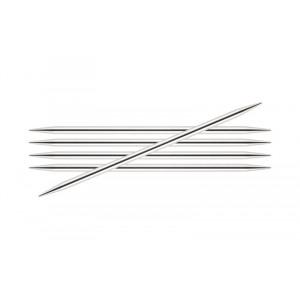 KnitPro Nova Metal Strumpstickor Mässing 15cm 2