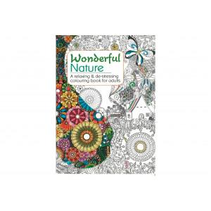 Målarbok Natur A4 - 32 sidor