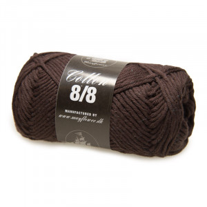Mayflower Cotton 8/8 Big Garn Unicolor 1906 Brun