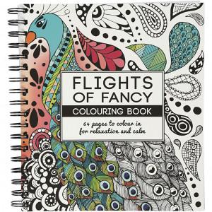 Mindfulness Målarbok Flights of Fancy 19