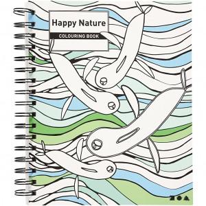 Mindfulness Målarbok Glad Design 18