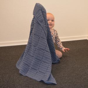 Nordic Baby Merino Babytäcke av Rito Krea - Babytäcke Virkmönster 70x