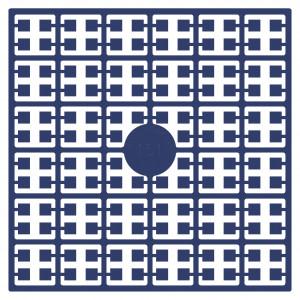 Pixelhobby Midi Pärlor 151 Marinblå 2x2mm - 144 pixels