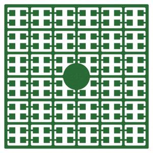 Pixelhobby Midi Pärlor 345 Mörk smaragdgrön 2x2mm - 144 pixels