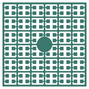 Pixelhobby Midi Pärlor 535 Petrol 2x2mm - 144 pixels