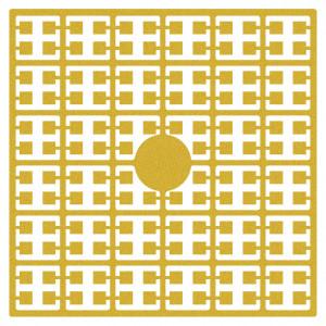 Pixelhobby Midi Pärlor 560 Guld 2x2mm - 144 pixels